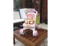 Fisher price push chair/baby walker