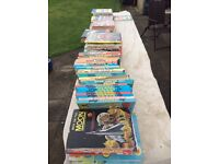 Annuals (various, beano, dandy, brooms, muppets, blue peter, etc.)