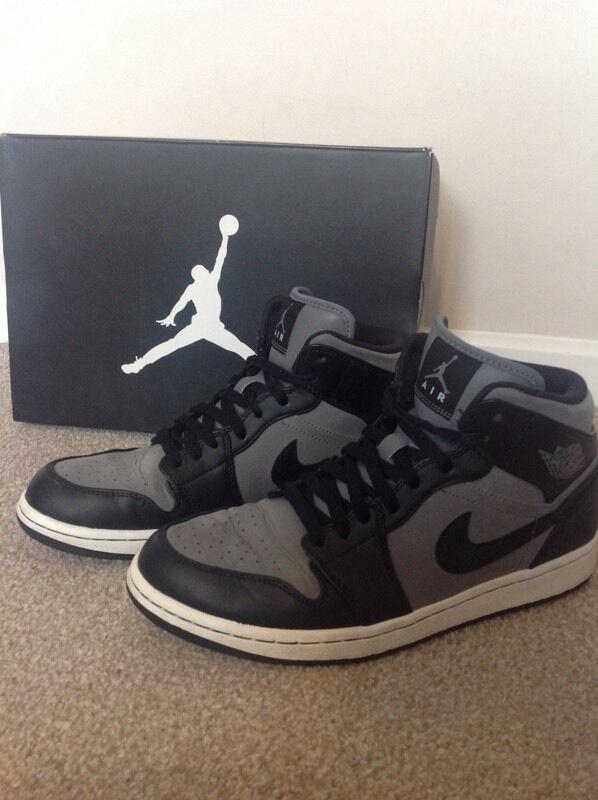 Nike Air Jordan 1 Phat, Basketball Trainers Size 9in Norwich, NorfolkGumtree - Nike Air Jordan 1 Phat Basketball Trainers.Size 9.Very lightly used. (Boxed)Cool Grey/Black WhiteCollection only