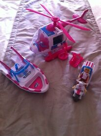 Rescue hospital toys