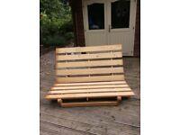 Ikea double futon base (pine)