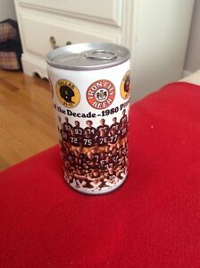 Iron City Beer 1980 Pittsburgh Steelers Can