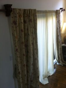 100% Silk Curtains West Island Greater Montréal image 1
