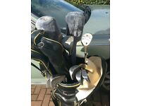 Golf bag and full set of clubs+extras