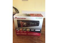 Pioneer car digital radio and CD player