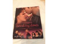 Twilight saga braking dawn movie companion