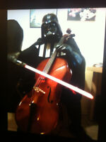 Cellist looking to join small orchestra, ensemble, Flash Mob. Ce