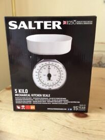 Brand new Salter weigh scales