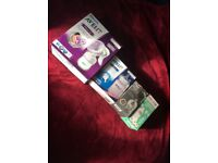 Baby bottle and breast pump bundle