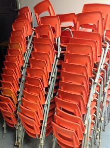 LOTS OF STACKABLE PLASTIC KIDS CHAIRS Kitchener / Waterloo Kitchener Area image 2