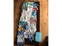 Newborn boys bundle over 50 items