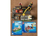 Lego City set 4645 harbour and freight liner