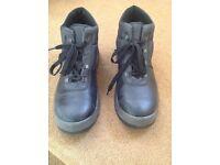 Chukka safety work boot U.K size 9 or Euro 43.