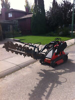 Residential electrical/ natural gas trenching