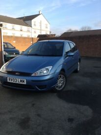 Ford Focus same owner since October 2003!