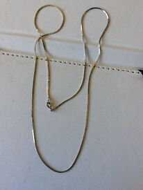 Solid silver chain 925