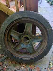 Saab steel wheels 175$ obo Kitchener / Waterloo Kitchener Area image 1