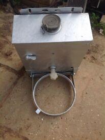 Van hand wash unit