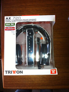 Tritton AX 720 Gaming Headset, Dolby 7.1 Surround!