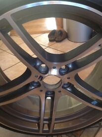 Bmw 313 19inch alloy wheel and tyre