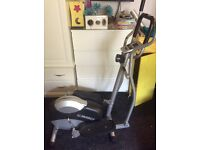 Marcy elliptical cross trainer with digital monitor