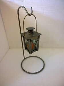 Brand new decorative metal lantern candle holder with stand London Ontario image 1