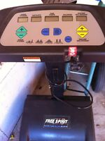 free spirit treadmill with incline