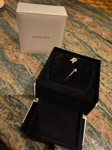 Perry Winkles Sterling Silver Arrow Bracelet with Pandora box