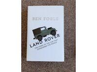Ben Fogle Land Rover