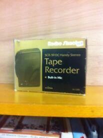 Radio shack tape recorder