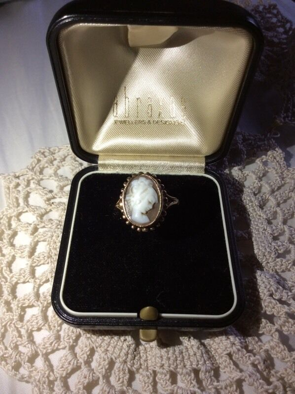 Cameo Ring Size (10in Norwich, NorfolkGumtree - A nice looking gold cameo ring, in gc;Im asking for £55 but Im open to sensible offers, you can either collect it or have it delivered to you by myself if you live locally to Norwich.Thanks for viewing my adAny enquiries or questions please feel...