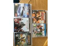 PS3 games used once in Excellent condition any 1 for £5