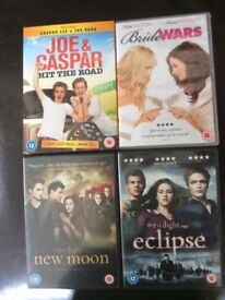 Bundle of DVD'S Rated 12