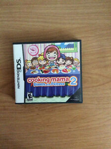 Cooking Mama 2 Dinner With Friends Nintendo DS Game