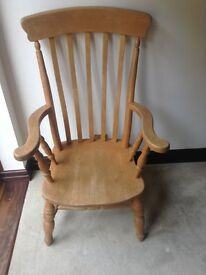 Solid Large Farm Chair