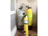 Scuba Diving Air Cylinders