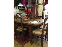 Six vintage chairs is amazing condition