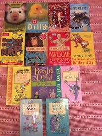 Children's books paperback Bundle 13 books inc Usbourne, Roald Dahl and Horrible Histories