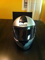 schuberth helmet S2 large with SRC comm system