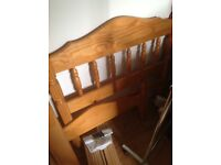 Single Pine Bed Frame + FREE Mattress if required