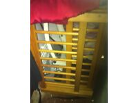 Kids wooden toddler bed