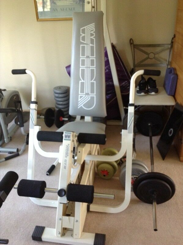 Professional weider stacked weights multi gym