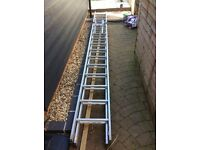 Gravity 260 aluminium ladders and easyreach ladder stay