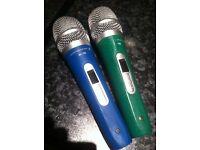 2 vocal microphones Intimidation IK-10