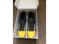 Older boys Football Messi boots size 5.5