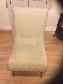 Vintage mothering chair