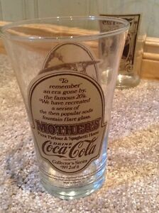 Original Mother's Pizza Coca Cola glasses (4) Kitchener / Waterloo Kitchener Area image 2