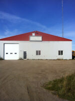 Commercial Shop and Yard for Rent in Bonnyville, AB.