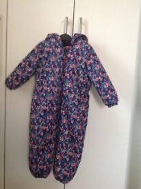 Next quilted snowsuit 2-3 yrs