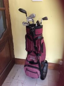 Two Golf Sets. One Adult One Child
